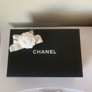 CHANEL Party Supplies - Authentic Chanel Magnetic Gift Box